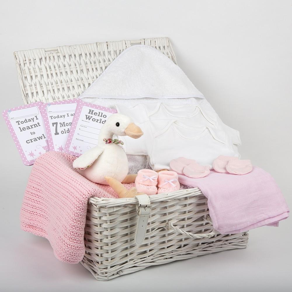 Pink Baby Hamper
