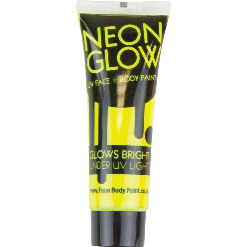 Yellow UV Face & Body Paint