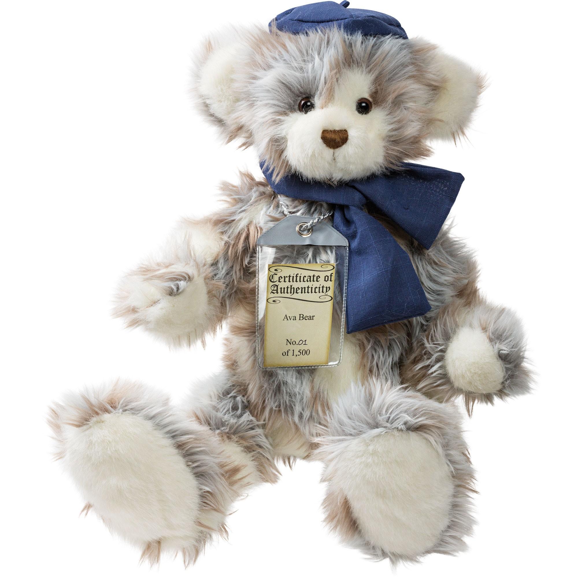 Silver Tag Bear Ava