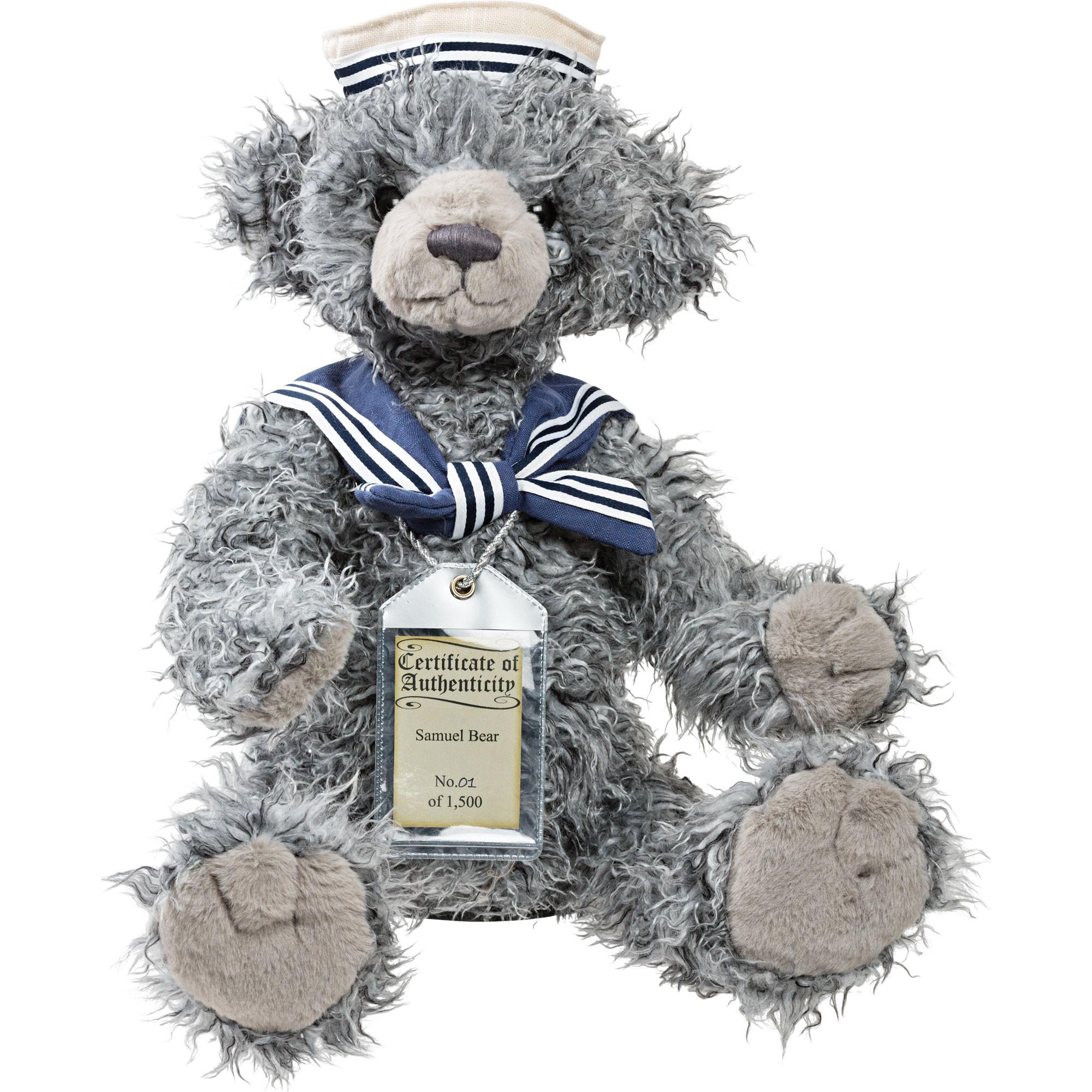 Silver Tag Bear Samuel