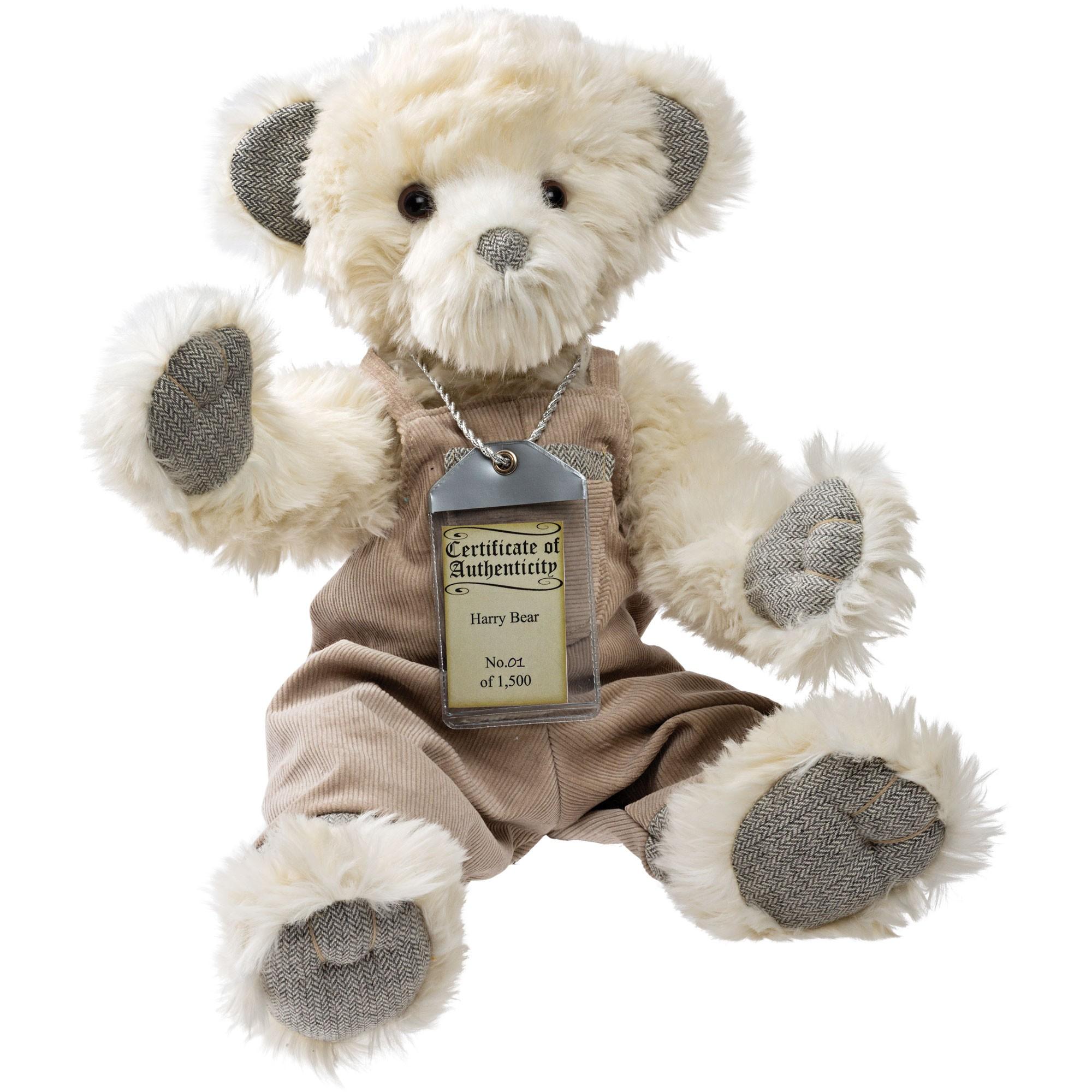 Silver Tag Bear Harry