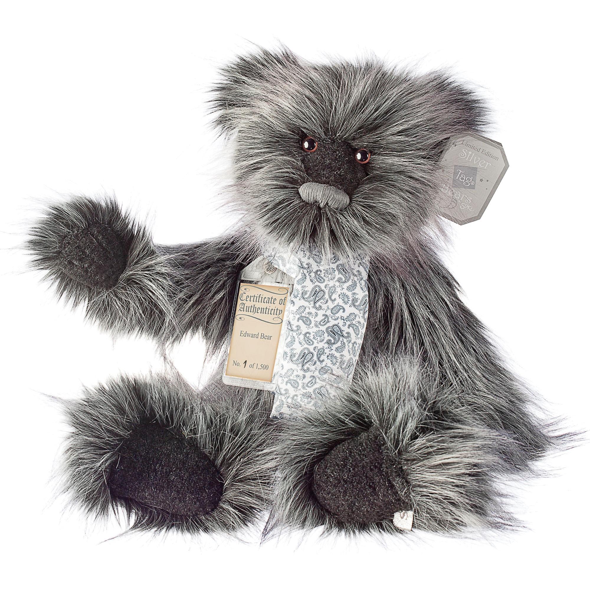 Silver Tag Bear Edward