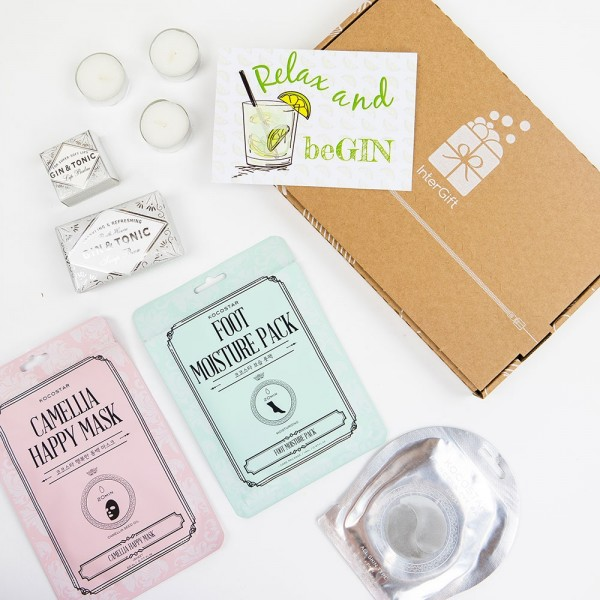 Relax and beGIN Letter Box Gift