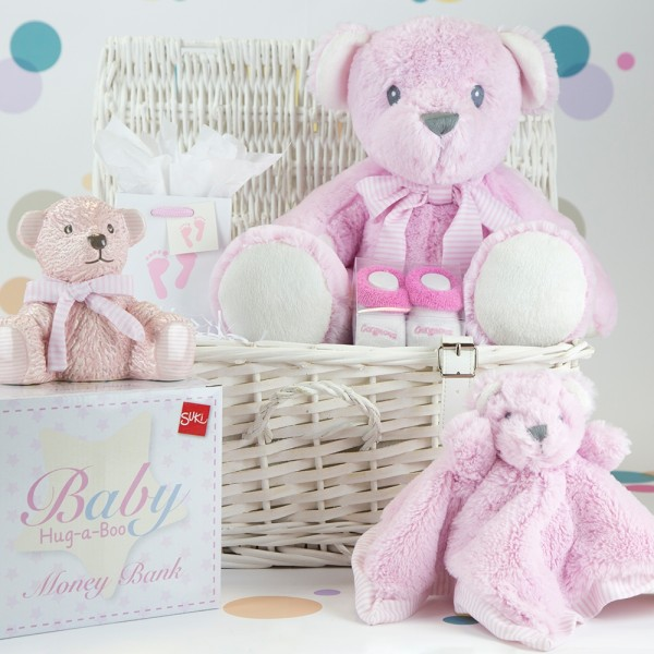 InterGift Baby Girl Hamper