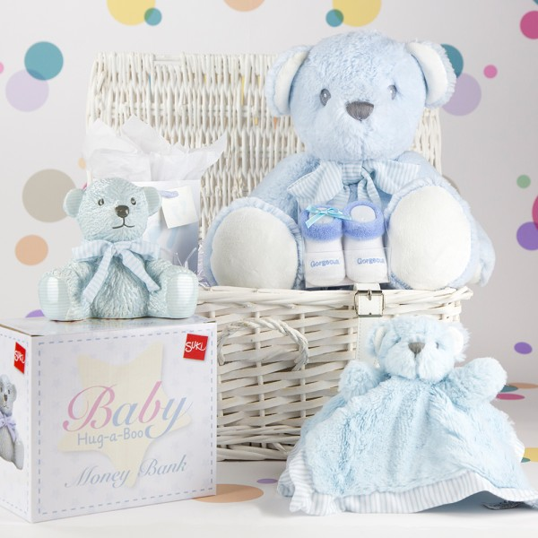 InterGift Baby Boy Hamper