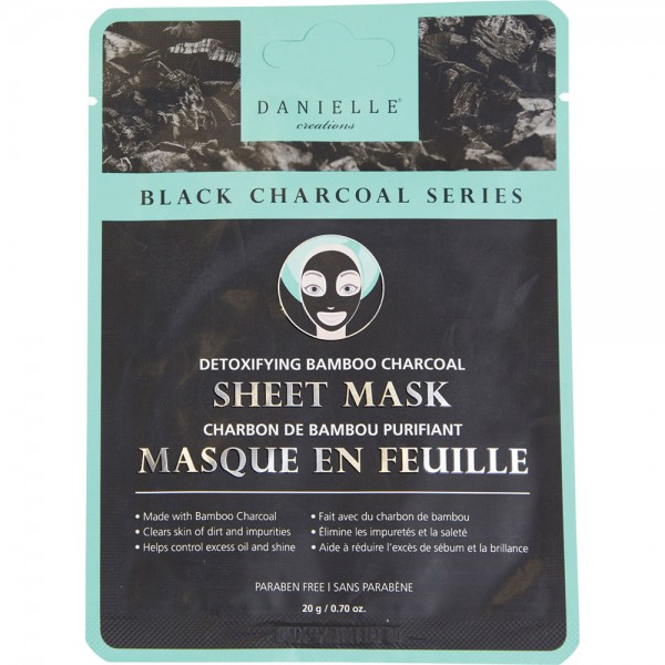 Detoxifying Bamboo Charcoal Sheet Mask
