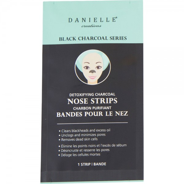 Box of 8 Detoxifying Charcoal Nose Strips