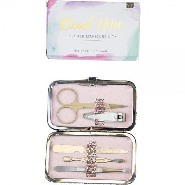 Glitter Encrusted Manicure Set