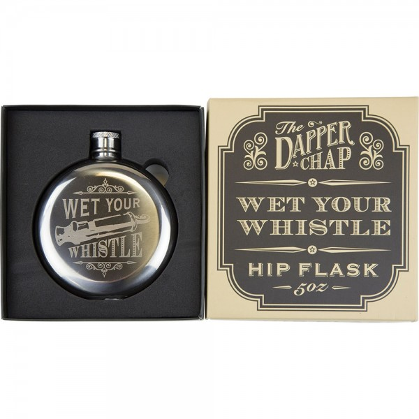 Wet Your Whistle Hip Flask