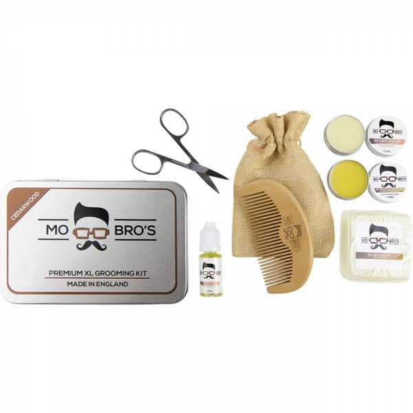 Premium XL Grooming Kit in Classic Cedarwood Scent
