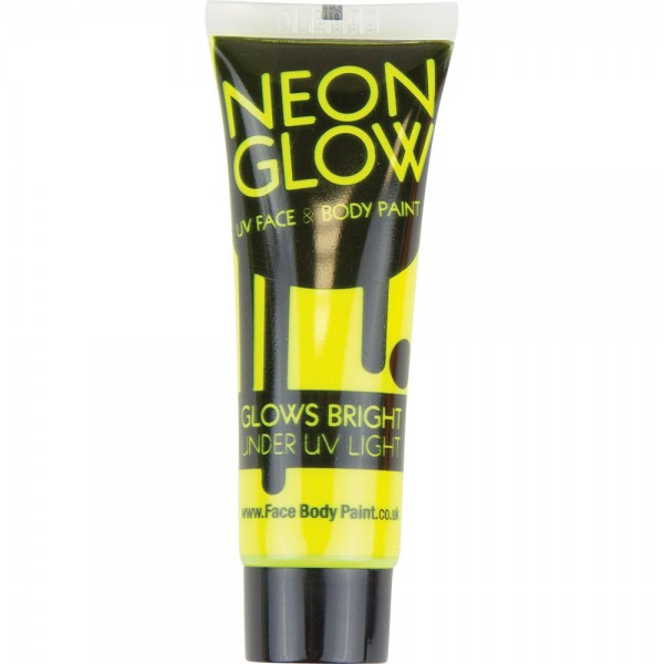 Yellow UV Face & Body Paint