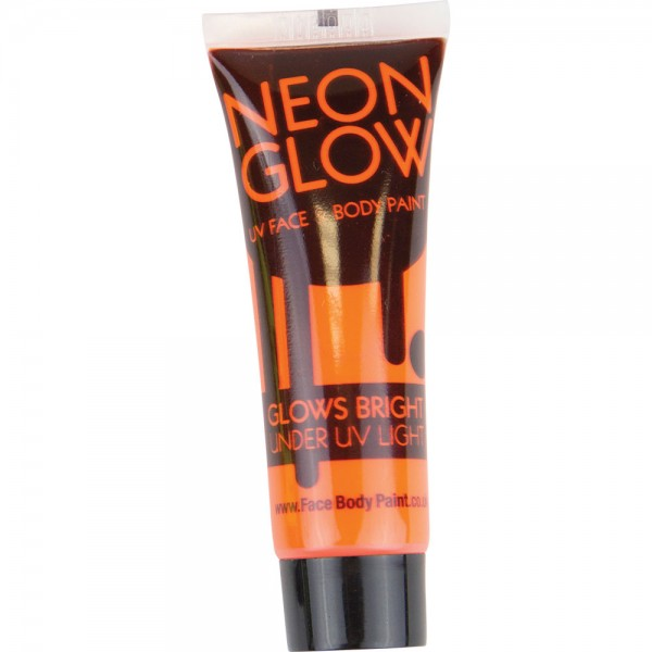 Orange UV Face & Body Paint