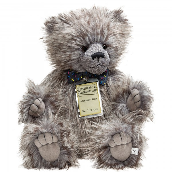 Silver Tag® Bear Alexander