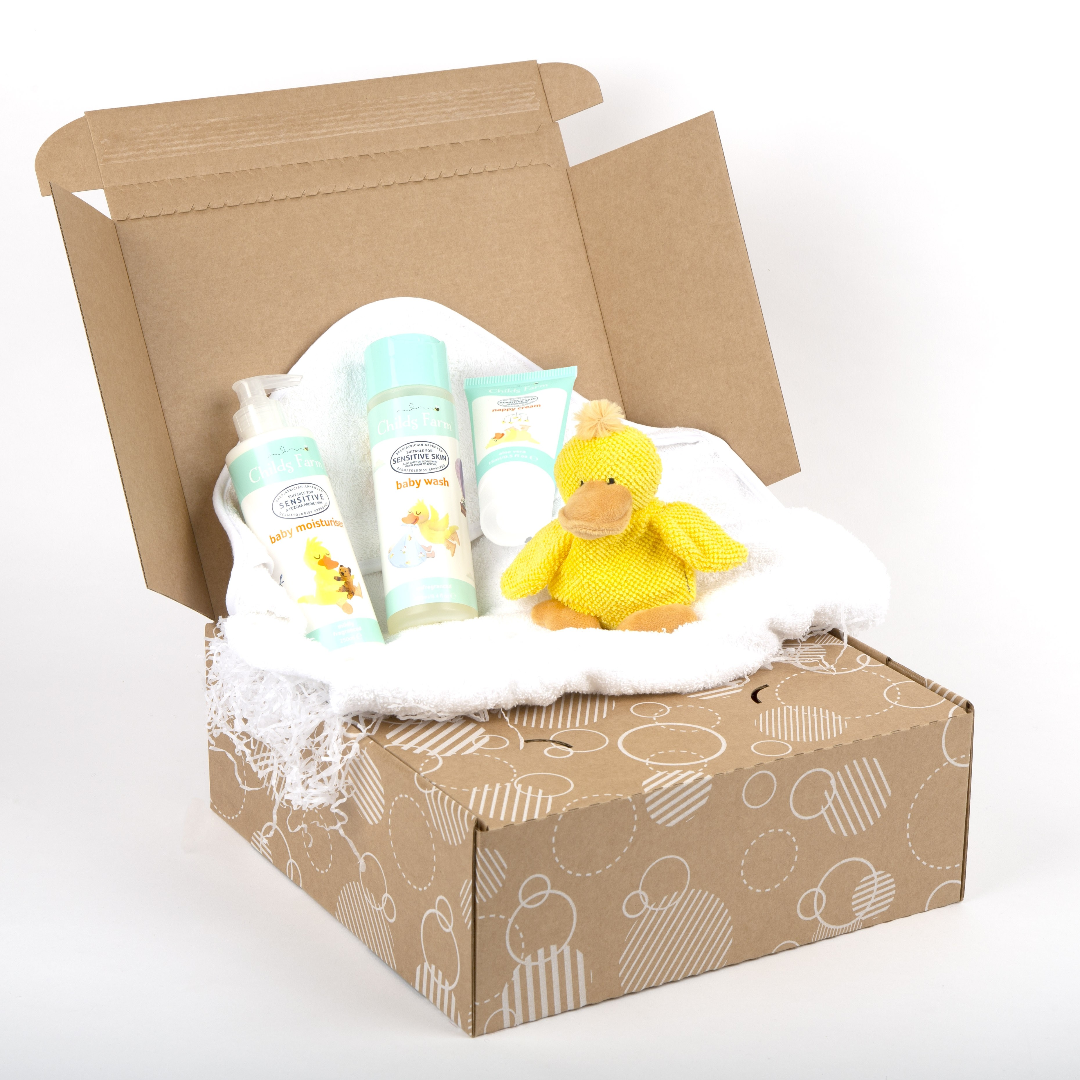 Baby Bath Time Gift Box
