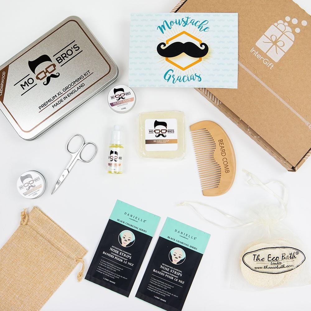 Moustache Gracias Letter Box Gift