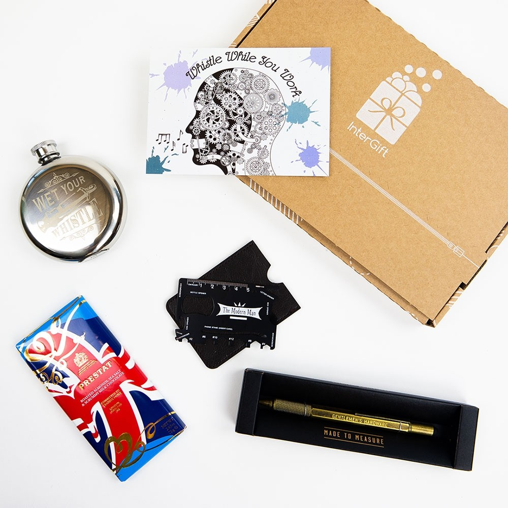 Whistle While You Work Letter Box Gift